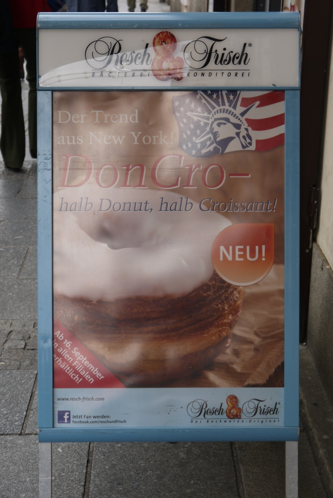 A bakery near the Hauptplatz sells Don-Cro, an Austrian version of the famous (infamous?) cronut.  I have yet to try it, but I definitely want to.