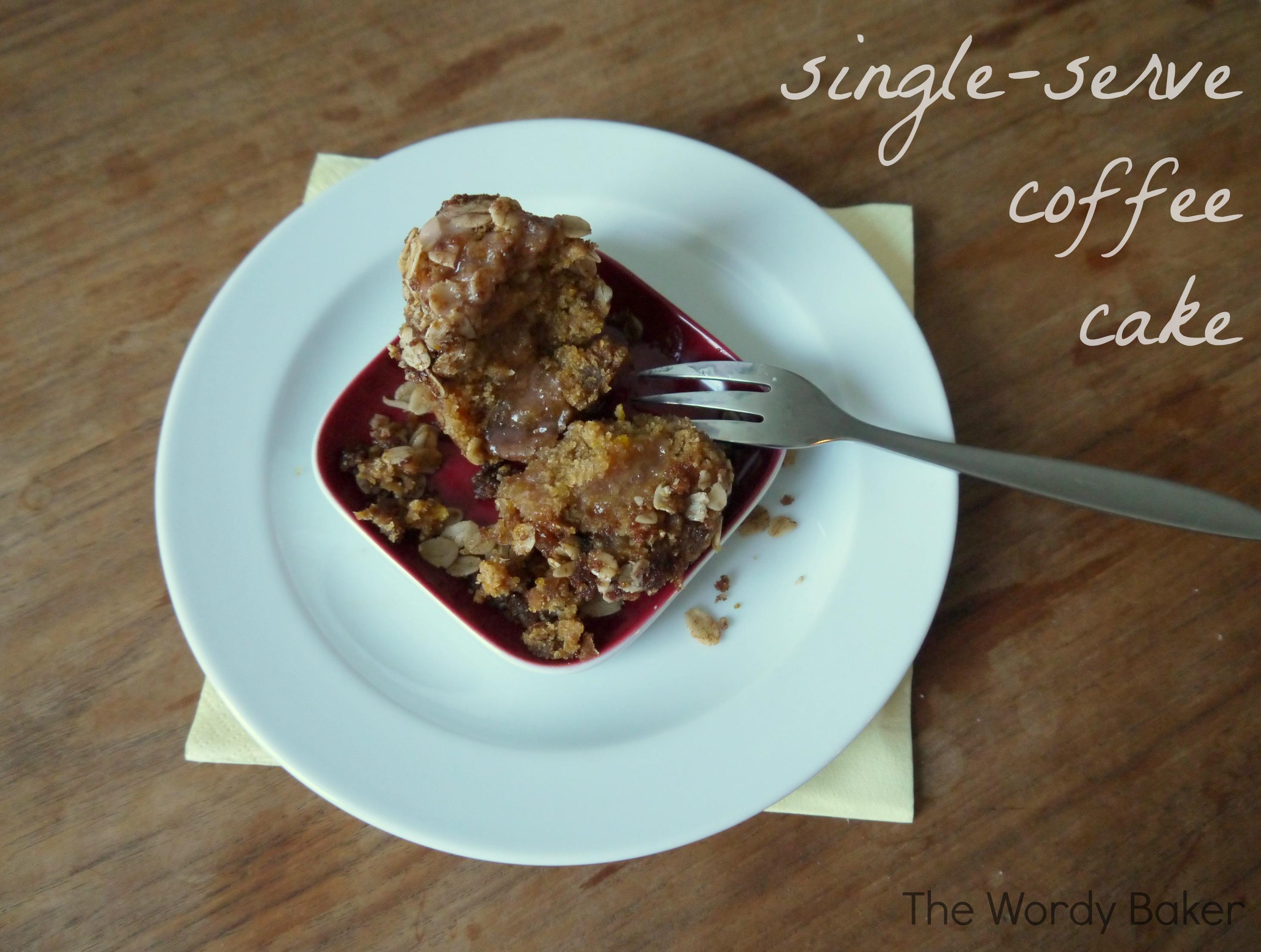 Very Vanilla Single Serve Vegan Cake