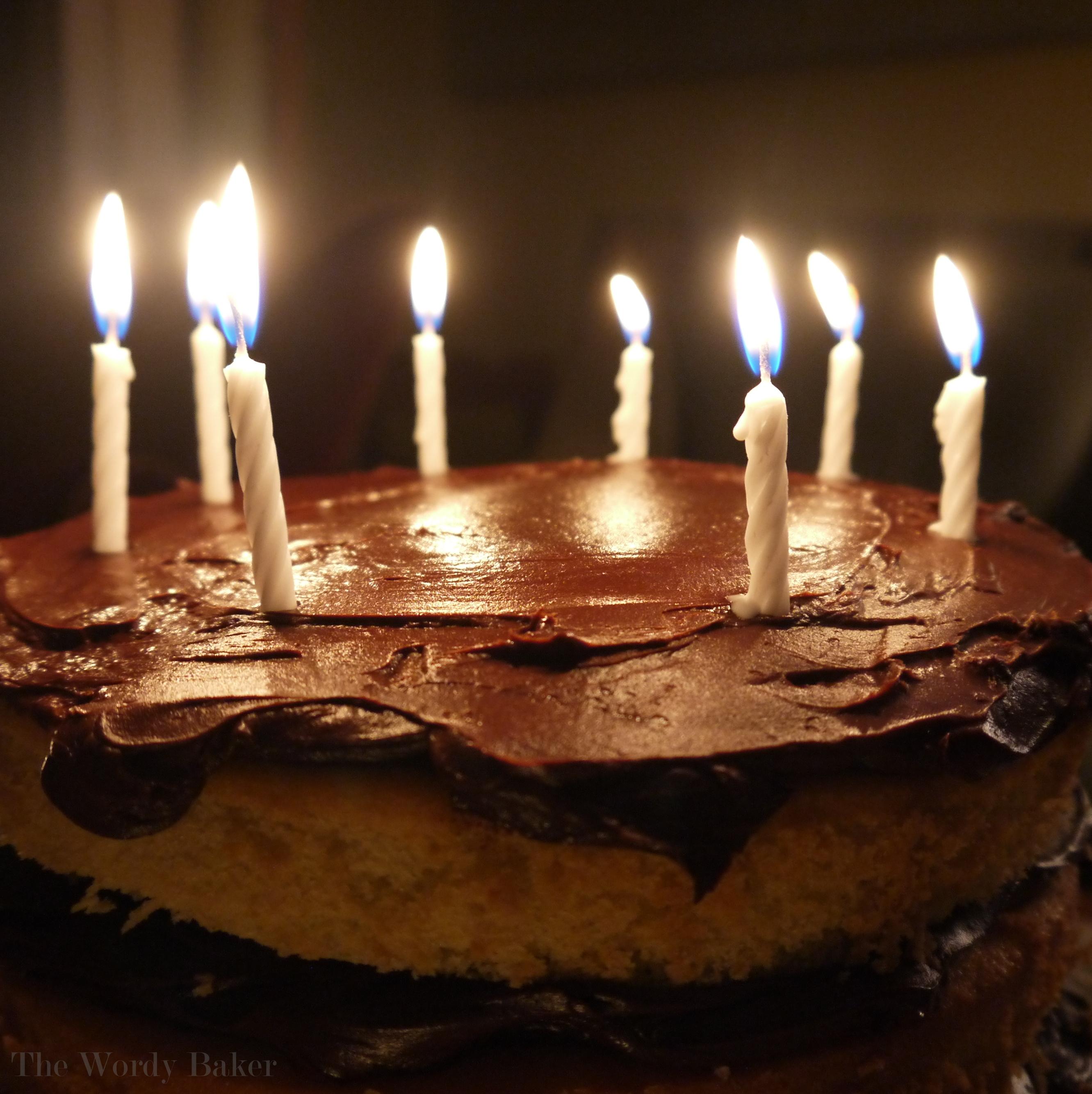 Brilliant Martha Stewarts Yellow Buttermilk Cake The Wordy Baker Funny Birthday Cards Online Overcheapnameinfo