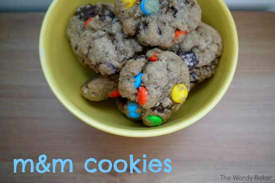 m&m cookies02a