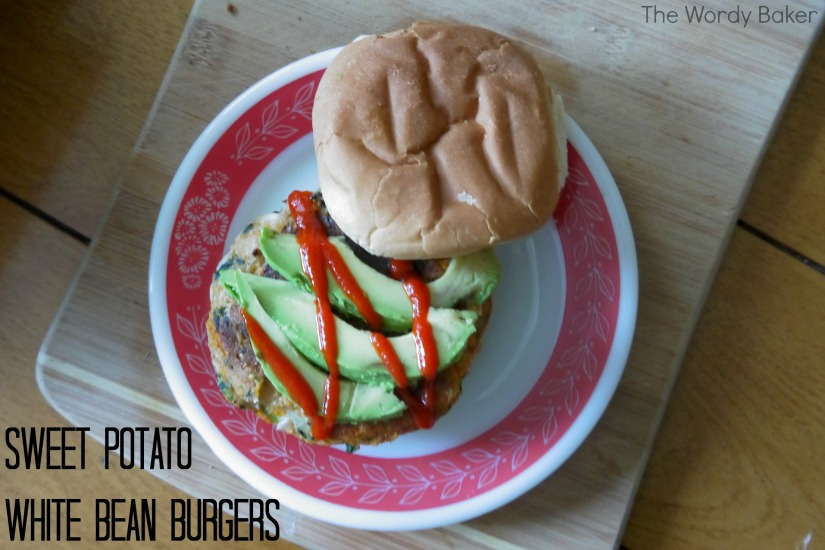 sweet potato white bean burgers